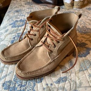 Eastland Made in Maine USA suede lace up boot